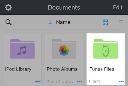 How to view files using iTunes - Readdle Knowledge Base