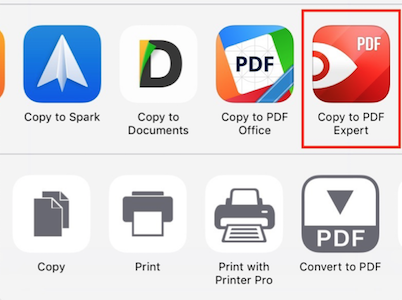 Transfer files from Safari to PDF Expert - Readdle Knowledge Base